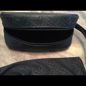 OAKLEY SOFT large eyeglass case black w cover *NEW
